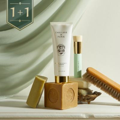 [1+1] MOUSSE NETTOYANTE de AURORA CLEANSING PROGRAM(여드름 기능성 클렌저&브러쉬 세트)